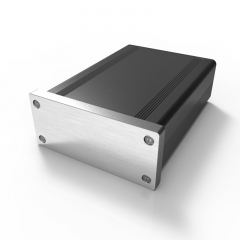 88x38-118 audio case amplifier enclosure box alloy cast aluminum